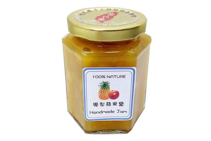 鳳梨蘋果果醬120ml