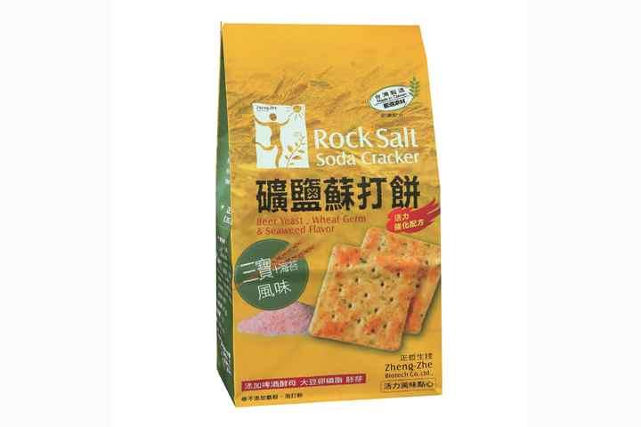 正哲生技 礦鹽蘇打餅(三寶海苔)